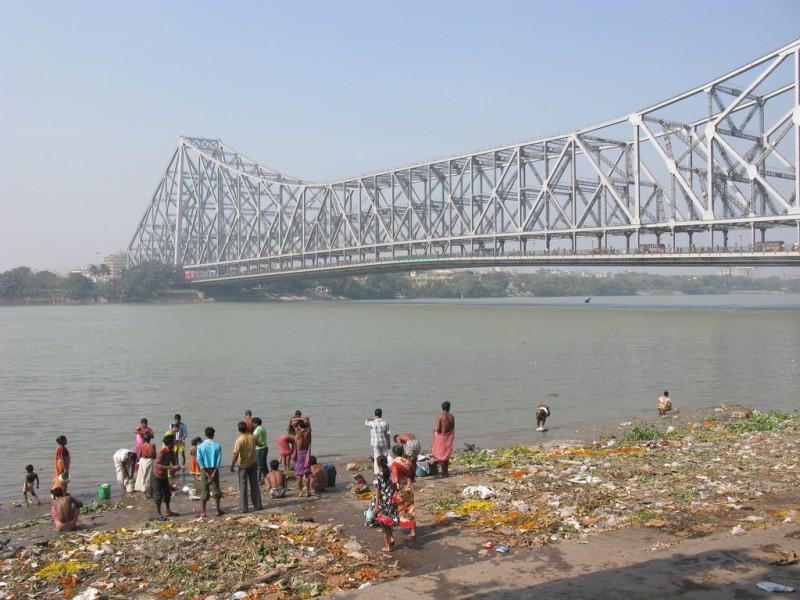 Howrah Bridge, Kolkata, Calcutta, Kalkutta, West-Bengal, India, Asia, Indien, Asien